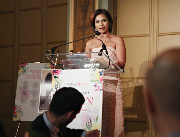 T.J. Martell Foundation 4th Annual Women Of Influence Awards New York - Inside [event,adaptation,martell foundation 4th annual women of influence awards,kristine johnson,honoree,media personality,t.j.,new york]