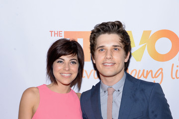 Krysta Rodriguez Andy Mientus Arrivals at the 'TrevorLIVE NY' Event — Part 2
