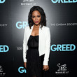 """Krystal Joy Brown Sony Pictures Classics & The Cinema Society Host A Special Screening Of """"Greed"""""""
