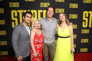 Kumail Nanjiani Emily V. Gordon Premiere Of 20th Century Fox's 'Stuber' - Red Carpet