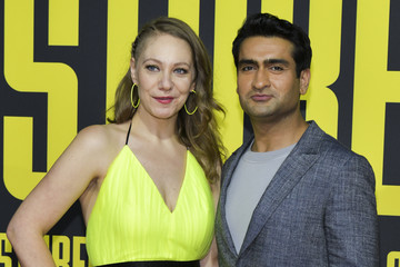 Kumail Nanjiani Emily V. Gordon Premiere Of 20th Century Fox's 'Stuber' - Arrivals