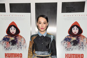 "Actress Rinko Kikuchi attends the screening of ""Kumiko: The Treasure Hunter"" hosted by Amplify Releasing with The Cinema Society at Museum of Modern Art on March 12, 2015 in New York City."