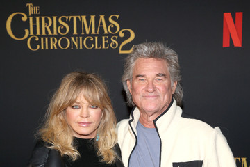 """Kurt Russell Goldie Hawn Netflix's """"The Christmas Chronicles: Part Two"""" Drive-In Event"""