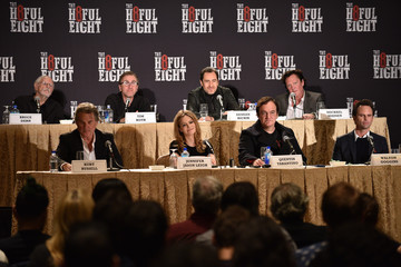 Kurt Russell Walton Goggins New York Press Conference For 'The Hateful Eight'