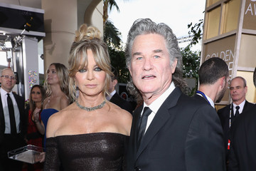Kurt Russell FIJI Water at the 74th Annual Golden Globe Awards