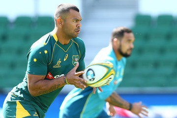 Kurtley Beale Australia Wallabies Captain's Run