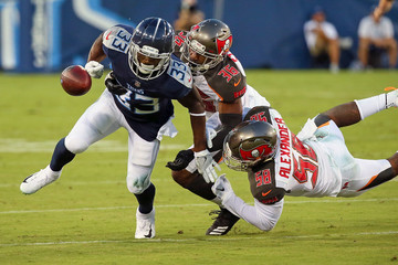Kwon Alexander Tampa Bay Buccaneers vs. Tennessee Titans