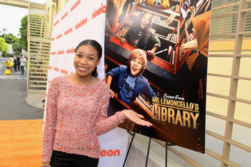 Kyla Drew Simmons Nickelodeon's 'Escape From Mr. Lemoncello's Library' Premiere Event at Paramount Studios in Hollywood