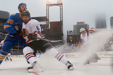 Kyle Brodziak 2017 Bridgestone NHL Winter Classic - Chicago Blackhawks v St Louis Blues