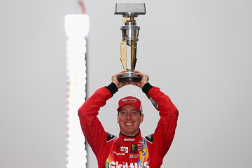Kyle Busch NASCAR Sprint Cup Series Crown Royal Presents the Jeff Kyle 400 at the Brickyard