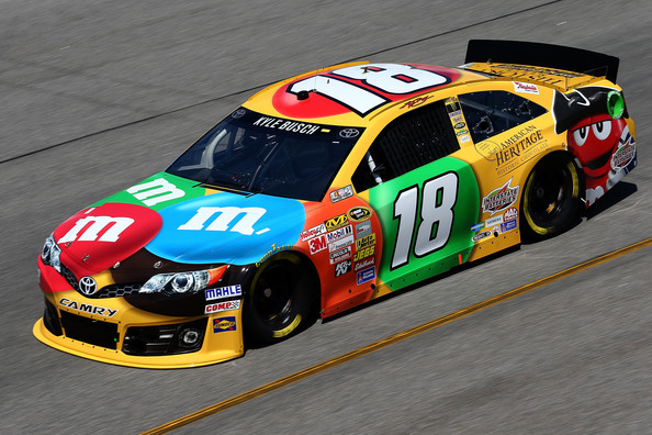 Behind the wall kyle busch - Pictures of kyle busch s car ...