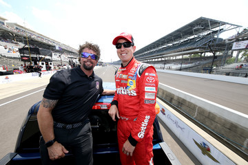 Kyle Busch Crown Royal Presents the Combat Wounded Coalition 400 at the Brickyard - Day 2