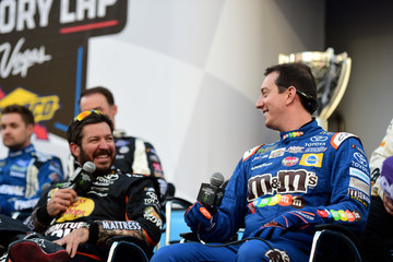 Kyle Busch NASCAR Victory Lap Fueled by Sunoco