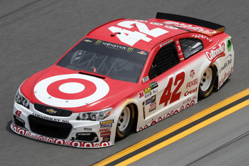 Kyle Larson Daytona International Speedway - Day 2
