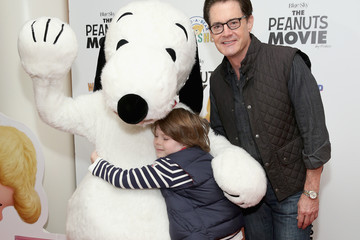 Kyle MacLachlan Callum MacLachlan 'The Peanuts Movie' and Build-A-Bear Workshop Special Screening
