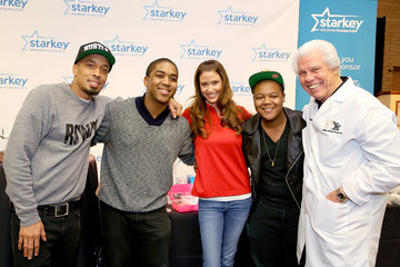 Kyle Massey Starkey Hearing Foundation Mission at GRAMMY Camp