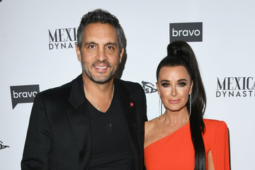 Kyle Richards Mauricio Umansky Bravo's Premiere Party For 'The Real Housewives Of Beverly Hills' Season 9 And 'Mexican Dynasties' - Arrivals