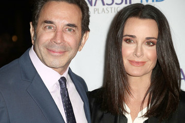 Kyle Richards Dr. Paul Nassif Unveils His New Medical Spa With Grand Opening and Ribbon Ceremony
