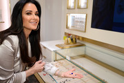 Kyle Richards attends the Kendra Gives Back event at Kendra Scott on February 12, 2020 in Century City, California.