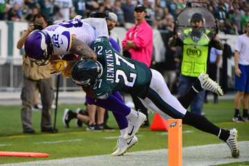 Kyle Rudolph Minnesota Vikings vs. Philadelphia Eagles