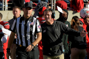 Kyle Whittingham Oregon v Utah