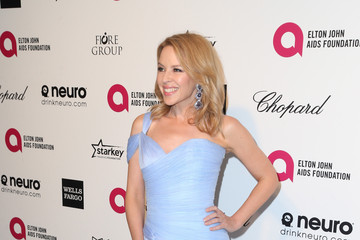 Kylie Minogue Arrivals at the Elton John AIDS Foundation Oscars Viewing Party — Part 4