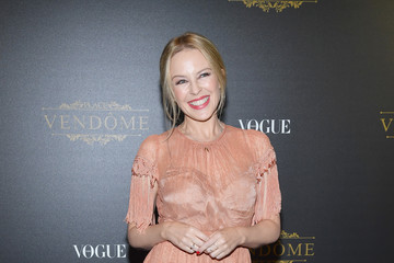 Kylie Minogue Irving Penn Exhibition Private Viewing Hosted by Vogue - Paris Fashion Week Womenswear S/S 2018