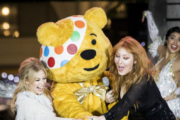 Kylie Minogue Covent Garden Christmas Lights Switch On
