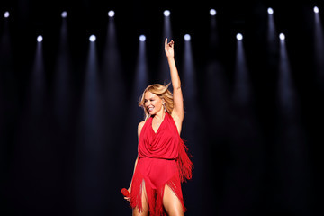 Kylie Minogue US Entertainment Best Pictures of the Day -September 16 2016