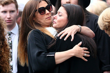 Kym Marsh Funeral Takes Place Of Martyn Hett Killed In The Manchester Arena Terror Attack