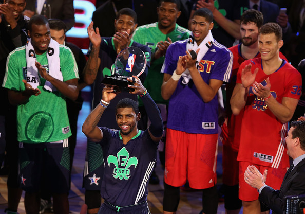 quality design f3fc4 f9655 Kyrie Irving Photos - NBA All-Star Game 2014 - 2102 of 2397 ...