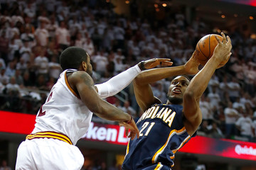 Kyrie Irving Indiana Pacers v Cleveland Cavaliers - Game Two