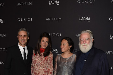 Kyung Turrell LACMA 2015 Art+Film Gala Honoring James Turrell and Alejandro G Inarritu, Presented by Gucci - Red Carpet