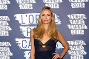 Natasha Poly - Best Dressed at the L'Oreal Paris Blue Obsession Party