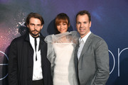 """(L-R) Sam Levinson, Zendaya, and Casey Bloys, President, HBO Programming attend the LA Premiere of HBO's """"Euphoria"""" at The Cinerama Dome on June 04, 2019 in Los Angeles, California."""