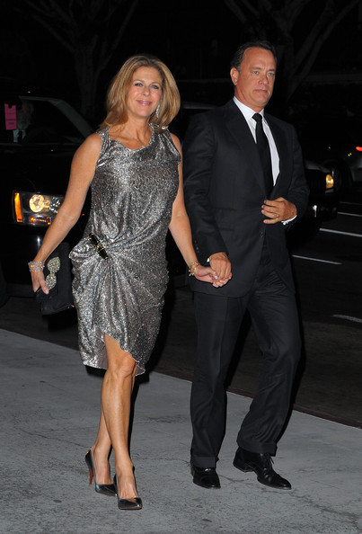 tom hanks wife rita wilson. Actor Tom Hanks and his wife