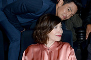 John Cho and Carrie Brownstein attend LA Film Festival World Premiere Gala Screening Of THE OATH on September 25, 2018 in Los Angeles, California.