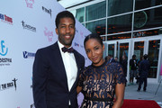 Musician Fonzworth Bentley and actress Faune A. Chambers attend the LA Premiere of Entertainment Studios Motion Pictures' 'The Wedding Year' at ArcLight Hollywood on September 12, 2019 in Hollywood, California.