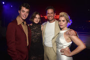 Jack Bannon, Emma Corrin, Ben Aldridge and Paloma Faith attend the after party for the premiere of Epix's 'Pennyworth' on July 24, 2019 in Los Angeles, California.