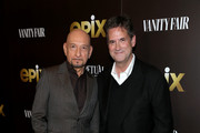 """Sir Ben Kingsley and Michael Wright attend the LA premiere of Epix's """"Perpetual Grace, LTD"""" at Linwood Dunn Theater on May 21, 2019 in Los Angeles, California."""