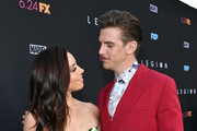 "(L-R) Aubrey Plaza and Dan Stevens attend the LA premiere of FX's ""Legion"" Season 3 at ArcLight Hollywood on June 13, 2019 in Hollywood, California."