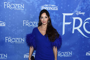 "Sofia Milos arrives at the LA Premiere Of ""Frozen"" at the Hollywood Pantages Theatre on December 06, 2019 in Hollywood, California."