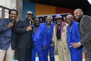 "Bobby Rush, Eddie Murphy, Eddie Levert, Walter Williams, Jimmy Lynch, Eric Grant , Mike Epps attend the LA Premiere Of Netflix's ""Dolemite Is My Name"" at Regency Village Theatre on September 28, 2019 in Westwood, California."