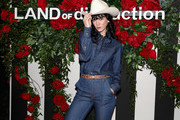 Nikki Lane at the LAND of distraction Launch Party at Chateau Marmont on November 30, 2017 in Los Angeles, California.
