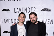 Justin Long and Ed Gass-Donnelly attend the LAVENDER Afterparty at Tribeca Film Festival 2016 on April 18, 2016 in New York City.