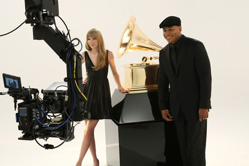 LL Cool J Taylor Swift LL Cool J and Taylor Swift Promote The GRAMMY Awards