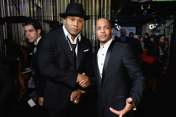 LL Cool J Backstage at the Tony Awards