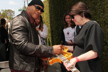 LL Cool J Arrivals at the John Varvatos Stuart House Benefit