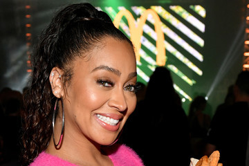 La La Anthony McDonald's Celebrates The Big Game Weekend with Bootsy Bellows and Post Malone