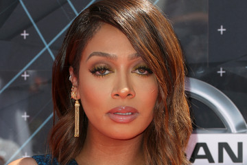 La La Anthony Celebs Arrive at the 2015 BET Awards